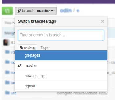 Branch selector